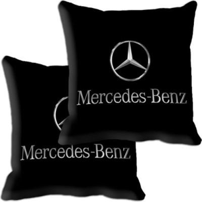 Shopnow Black Silk Car Pillow Cushion for Mercedes Benz
