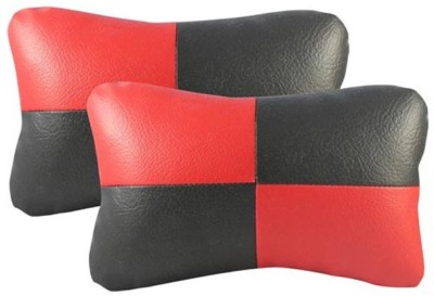 Motopart Multicolor Leather Car Pillow Cushion for Universal For Car