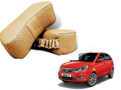 Kozdiko Beige Sponge Car Pillow Cushion for Tata