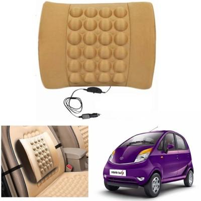 Capeshoppers Black Nylon Car Pillow Cushion for Tata
