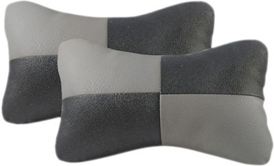 Gking Grey, Black Leather Car Pillow Cushion for Honda
