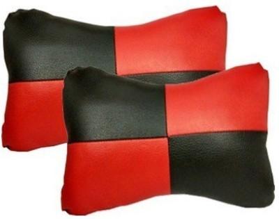 Gking Red, Black Velvet Car Pillow Cushion for Hyundai
