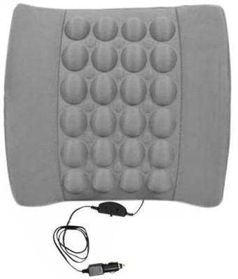 Speedwav Grey Plastic, Cotton Car Pillow Cushion for Honda