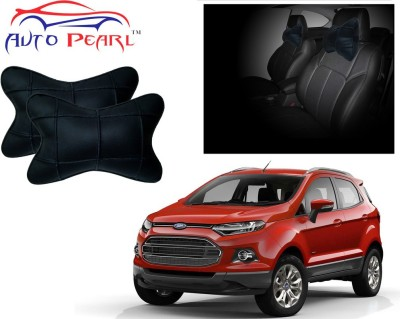 Auto Pearl Black Leatherite Car Pillow Cushion for Ford
