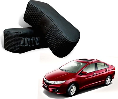 Kozdiko Black Fabric Car Pillow Cushion for Honda