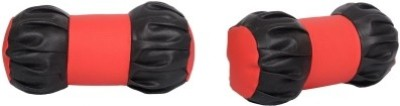 Amulite Red, Black Leatherite Car Pillow Cushion for Universal For Car