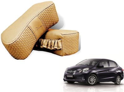 Kozdiko Beige Sponge Car Pillow Cushion for Honda