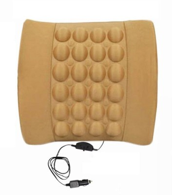 Speedwav Beige Cotton Car Pillow Cushion for Honda