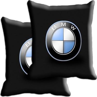 Shopnow Multicolor Silk Car Pillow Cushion for BMW