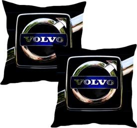 Sleepnature's Black Silk Car Pillow Cushion for Volvo
