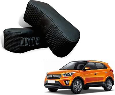 Kozdiko Black Fabric Car Pillow Cushion for Hyundai
