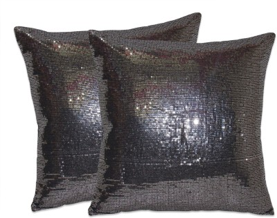 Zikrak Exim Black Polyester Car Pillow Cushion for Universal For Car