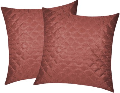 Zikrak Exim Brown Polyester Car Pillow Cushion for Universal For Car