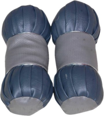 Retina Grey, Blue Leather Car Pillow Cushion for Universal For Car