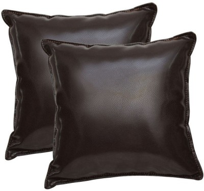Challenger Brown Leatherite Car Pillow Cushion for Universal For Car