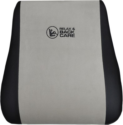 Car Fashion Grey Leatherite Car Pillow Cushion for Universal For Car