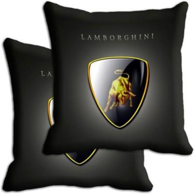 Shopnow Black Silk Car Pillow Cushion for Universal For Car