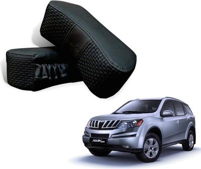 Kozdiko Black Fabric Car Pillow Cushion for Mahindra