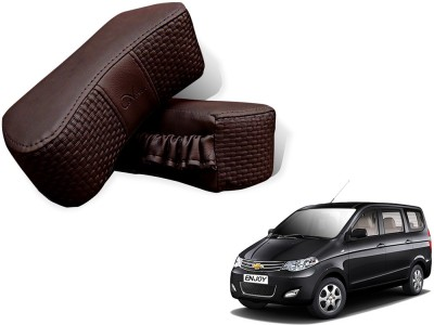 Auto Pearl Brown Leatherite Car Pillow Cushion for Chevrolet