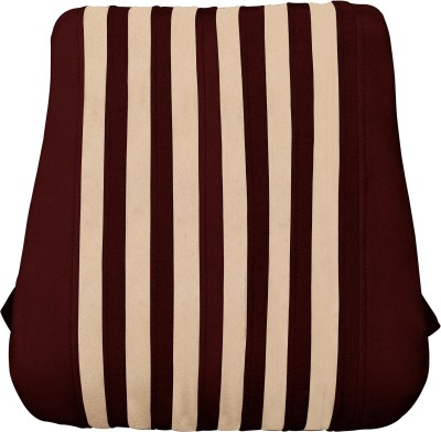 Car Vastra Brown Fabric Car Pillow Cushion for Universal For Car