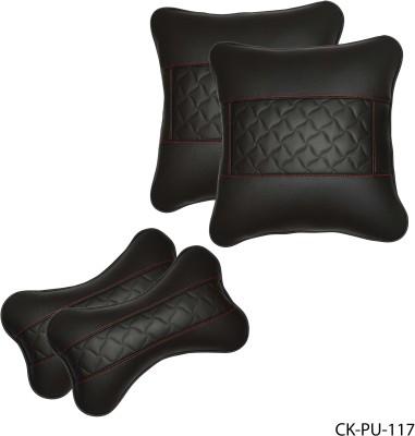 Car Fashion Multicolor Leatherite Car Pillow Cushion for Universal For Car
