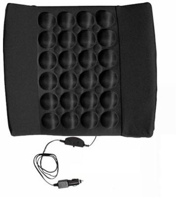 Speedwav Black Cotton Car Pillow Cushion for Honda