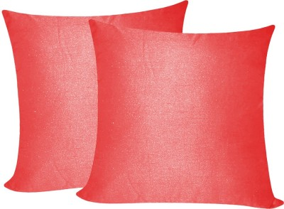 Zikrak Exim Pink Polyester Car Pillow Cushion for Universal For Car