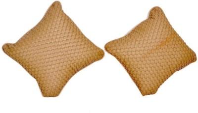 CarReflection Beige Cotton Car Pillow Cushion for Mahindra