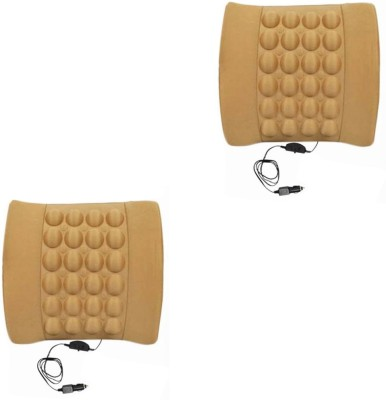 Speedwav Beige Cotton Car Pillow Cushion for Universal For Car