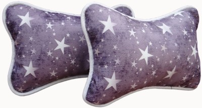 Candy Ride Multicolor Leatherite Car Pillow Cushion for Universal For Car