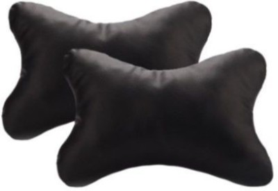 Retina Black Jute Car Pillow Cushion for Ford