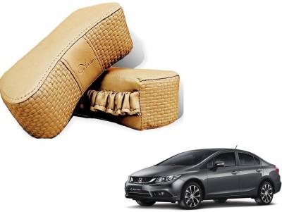 Kozdiko Beige Sponge Car Pillow Cushion for Honda