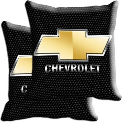 Shopnow Multicolor Silk Car Pillow Cushion for Chevrolet