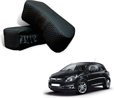 Auto Pearl Black Leatherite Car Pillow Cushion for Universal For Car