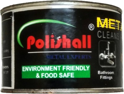 Polishall Car Polish for Brass, Silver, Copper, Bronze, Royal Enfield Bikes, Harley Davidson, Bathroom Fittings, Pooja Articles, Stainless Steel(125 g)