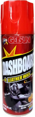GetSun Dashboard & Leather Wax Polish: with Air Freshener - Shines and Protects Leaving a durable