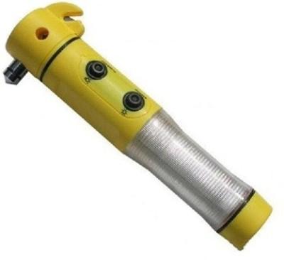 Shopper52 5 In 1 LED Flashlight Alarm Emergency Belt Cutter Auto Tool - CRTORH Car Safety Hammer