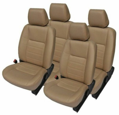 FRONTLINE PU Leather Car Seat Cover For Honda City(5 Seater, 2 Back Seat Head Rests)