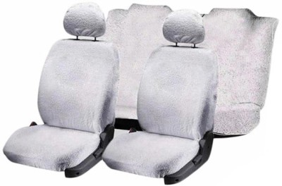 Speedwav Cotton Car Seat Cover For Nissan Terrano(Without Back Seat Arm Rest, 5 Seater, 2 Back Seat Head Rests)