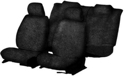 Allure Auto Cotton Car Seat Cover For Toyota Etios(Front Detachable Headrest, Mono Back Seat, 5 Seater)