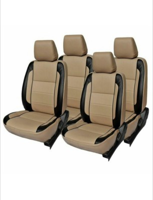 FRONTLINE PU Leather Car Seat Cover For Skoda Rapid(5 Seater, 2 Back Seat Head Rests)