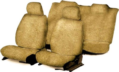 Speedwav Cotton Car Seat Cover For Skoda Rapid(4 Seater, 2 Back Seat Head Rests)