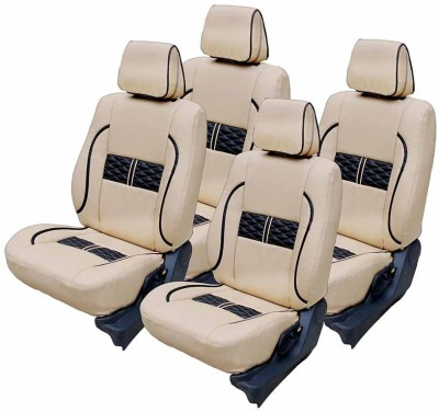 FRONTLINE PU Leather Car Seat Cover For Volkswagen Polo(5 Seater, 2 Back Seat Head Rests)
