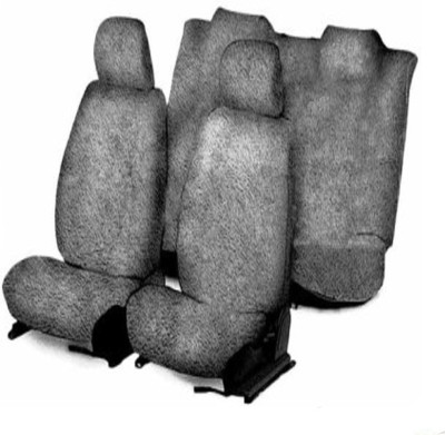 SHIELD Cotton Car Seat Cover For Ford Fiesta Old(Front Detachable Headrest, Without Back Seat Arm Rest, 5 Seater)