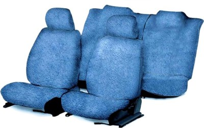 Speedwav Cotton Car Seat Cover For Maruti WagonR(4 Seater, 2 Back Seat Head Rests)