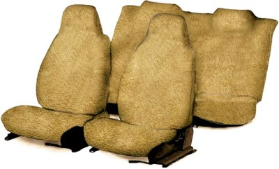 Speedwav Cotton Car Seat Cover For Hyundai i10(4 Seater, 2 Back Seat Head Rests)