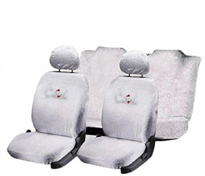 Jmjw & Sons Cotton Car Seat Cover For Honda Brio(4 Seater)