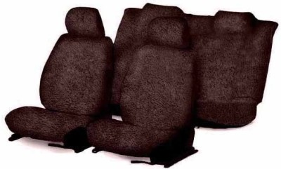 Speedwav Cotton Car Seat Cover For Daewoo Matiz(Without Back Seat Arm Rest, 5 Seater, 2 Back Seat Head Rests)