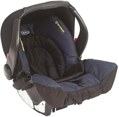 Graco Evo Snugfix Car Seat - Navy Blue