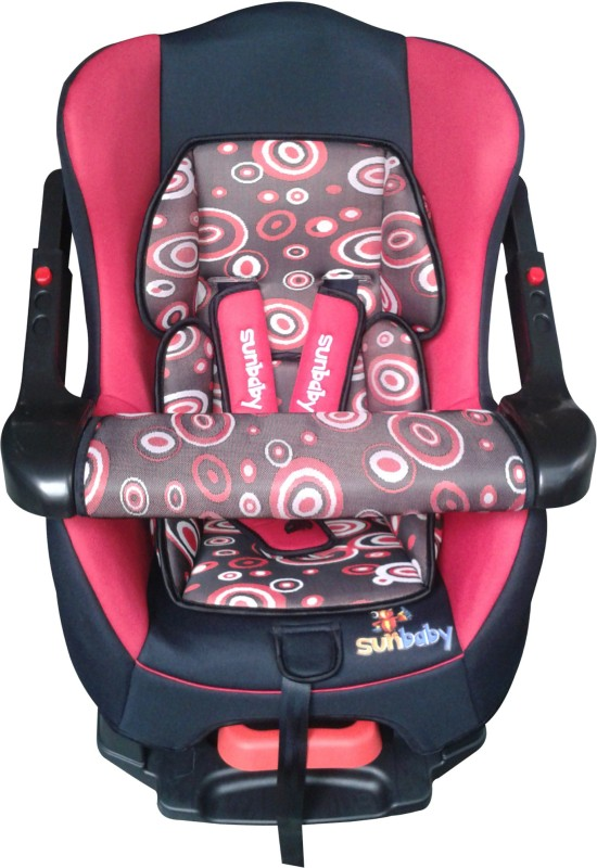 Sunbaby Forward Facing Inspire Car Seat with Bumper(Multicolor)